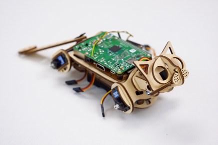 Nybble: el gato open-source basado en Raspberry Pi