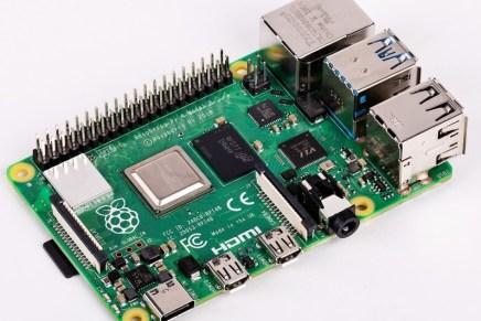 Presentada la Raspberry Pi 4 Model B: 4 GB de RAM, Gigabit Ethernet, USB-C, 2 pantallas 4K