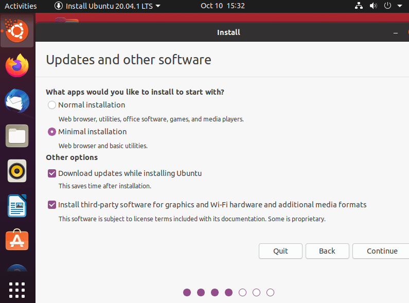 How do I Install an Entire Ubuntu on a USB Flash Drive? 6
