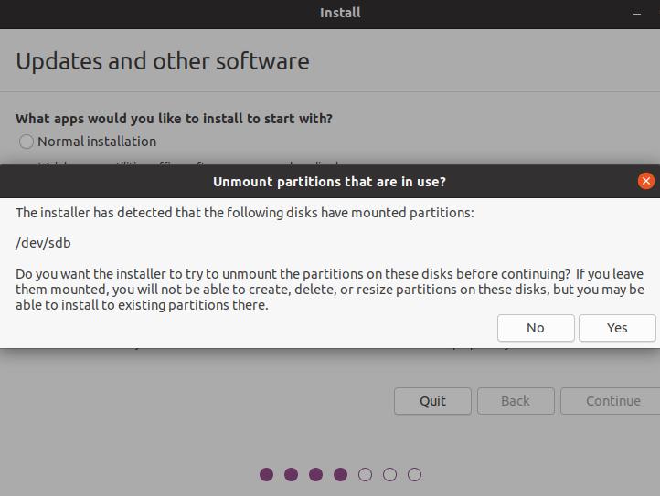 How do I Install an Entire Ubuntu on a USB Flash Drive? 7