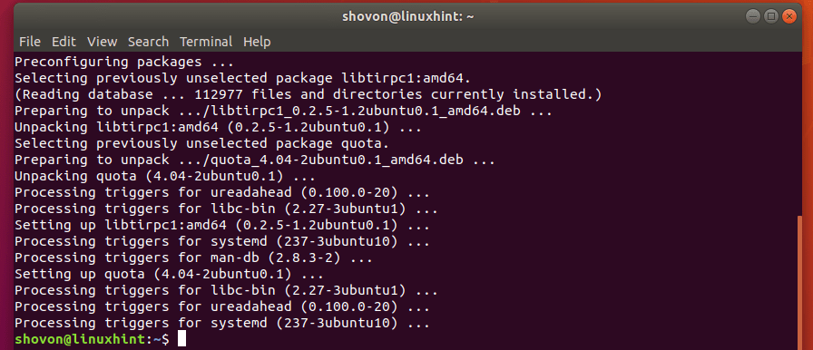 How to Use Quota on Ubuntu? 4