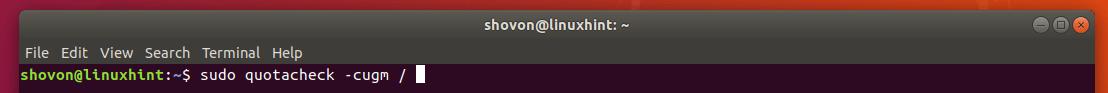 How to Use Quota on Ubuntu? 8