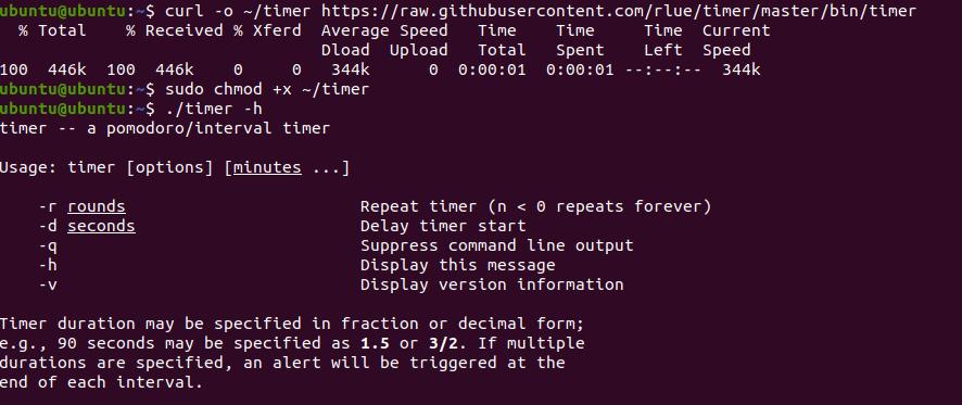 Countdown Timer App for Ubuntu 4