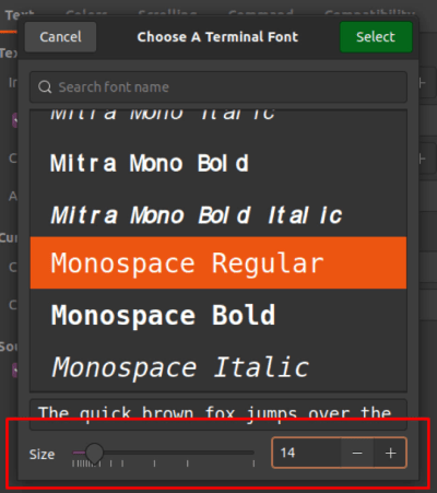 How to Change the Terminal Font Size in Ubuntu 9