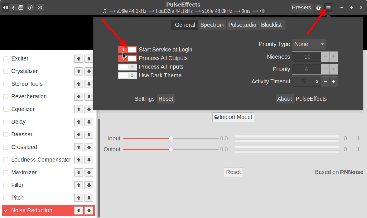 How to use PulseEffects Equalizer and Audio Enhancer in Linux 2