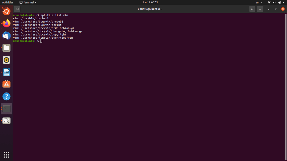 Find What Files are in a Package in Ubuntu 4