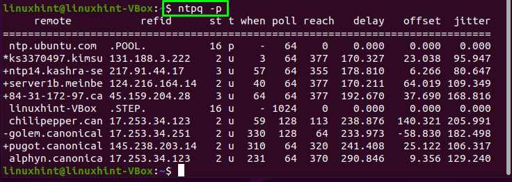 How to Setup NTP Server and Client on Ubuntu 29