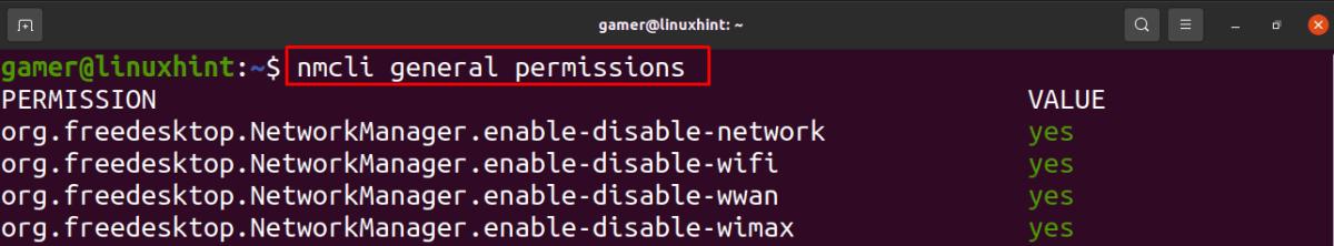 How to Use nmcli in Ubuntu 7