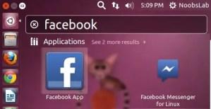 facebook on ubuntu