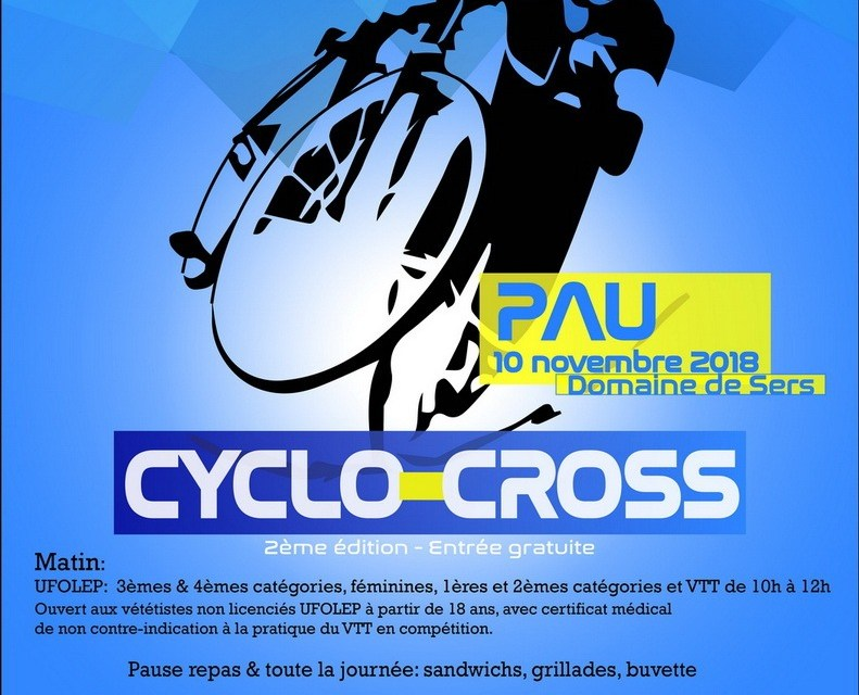 Cyclo cross de PAU