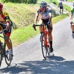 Bonne course de Sylvain à BIRAN chez les cadets