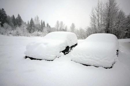 Zimowe parkowanie