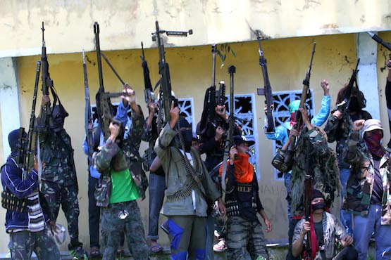 Members of the Bangsamoro Islamic Freedom Fighters and the Abu Sayyaf Group that pledged allegiance to the so-called Islamic State continue to pose a threat to the southern Philippine region of Mindanao. (ucanews.com file photo by Mark Navales)