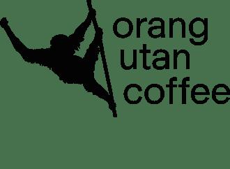 Drink Coffee. Save Orangutans. Logo