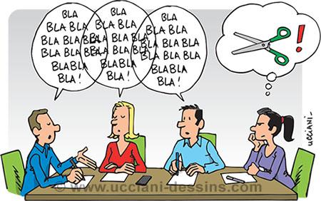 prise de parole en réunion