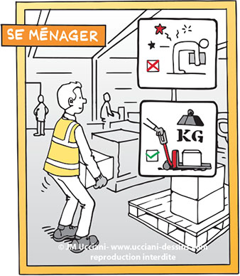 manutention de charges