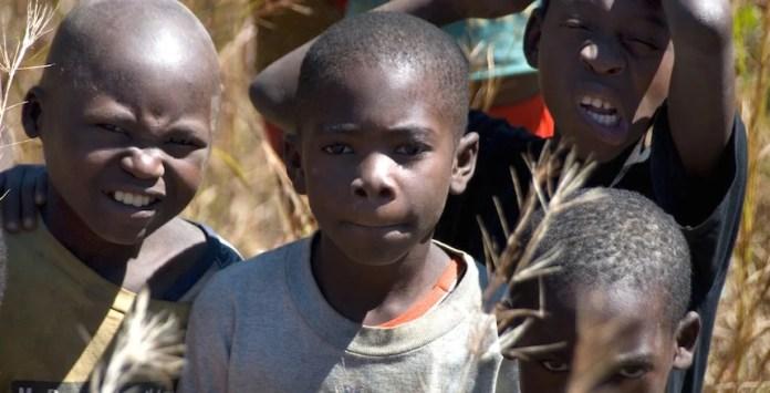 Children in Zambia.