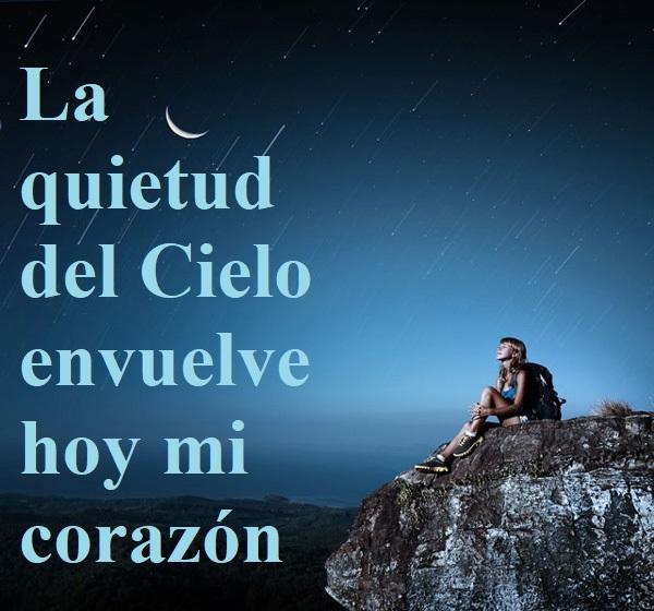 """Reflexión lección 286 (13.10.21) """"La quietud del Cielo envuelve hoy mi corazón""""."""