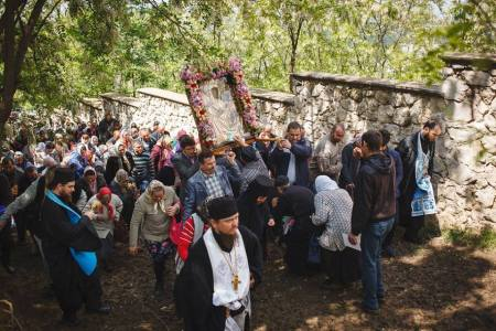 Varzaresti procesiune Icoana