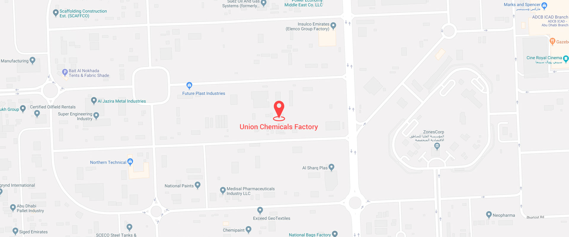 Contact Information Union Chemicals Factory Llc