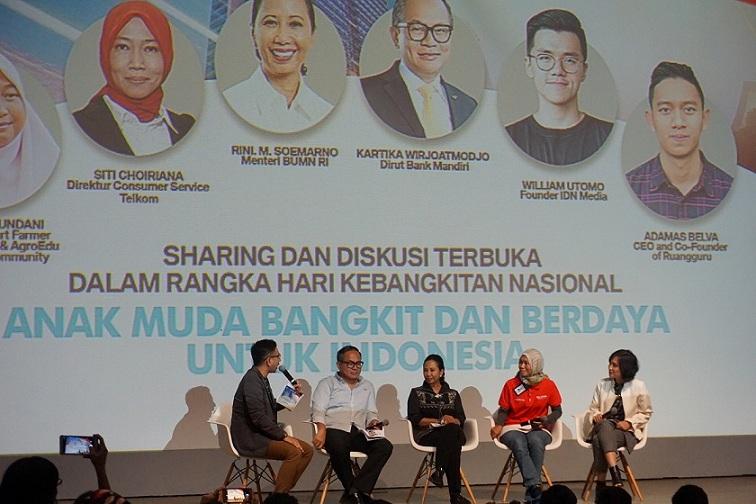 Saatnya Anak Muda Bangkit dan Berdaya Untuk Indonesia