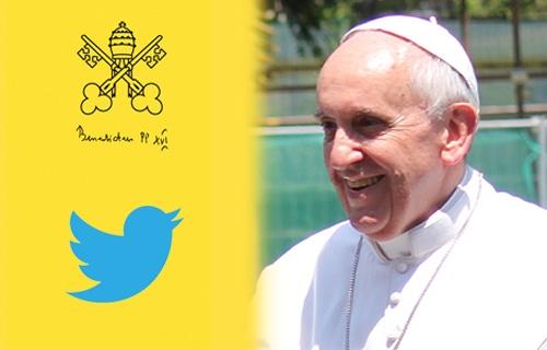 تغريدة البابا على تويتر بعد زيارة أوباما