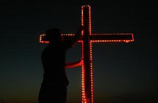 رعية مار يوسف باكيش بسكنتا تحتفل بعيد ارتفاع الصليب