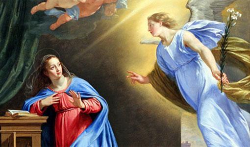 عيد بشارة العذراء مريم
