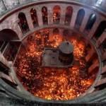 سبت النور في كنيسة القيامة