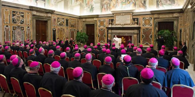 البابا فرنسيس للأساقفة الجدد: دعوتكم هي المحافظة على فرح الإنجيل