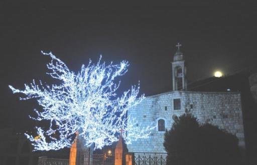 احتفالات واضاءة الاشجار والمغاور في بلدات الجومة لمناسبة عيدي الميلاد ورأس السنة