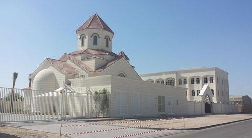 إفتتاح أول كنيسة أرمنية في دولة الإمارات العربية!