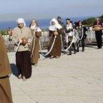 البطريرك الماروني بشارة الراعي يبارك أكبر سبحة في العالم