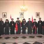 أفرام الثاني في مطرانيتي زحلة المارونية والكاثوليكية