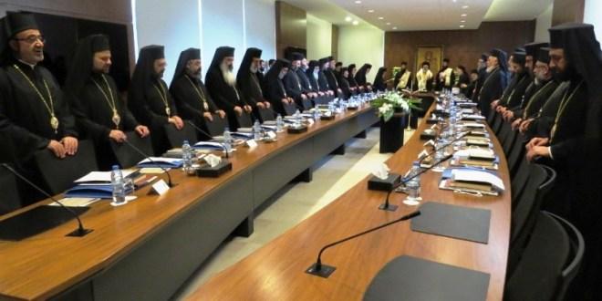 المجمع الأرثوذكسي بدأ أعماله