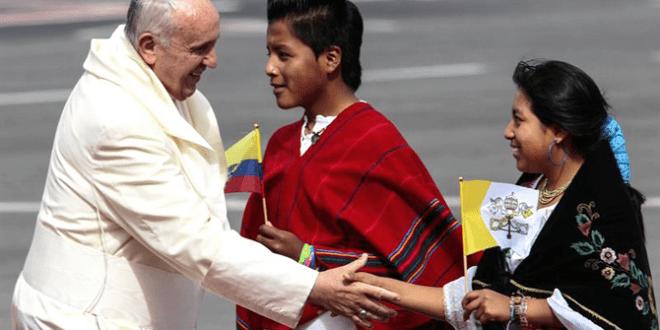 البابا من الإكوادور: جئت كشاهد لرحمة الله والإيمان بالمسيح
