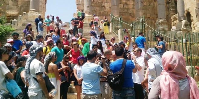 وفد الجامعة اللبنانية الثقافية في العالم اختتم زيارته لقلعة بعلبك
