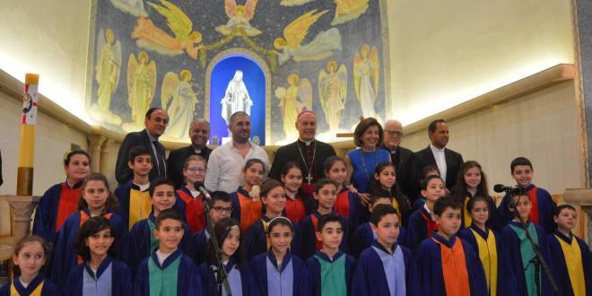جمعية مار منصور احتفلت بعيد مؤسسها