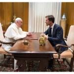البابا فرنسيس يستقبل رئيس وزراء هولندا