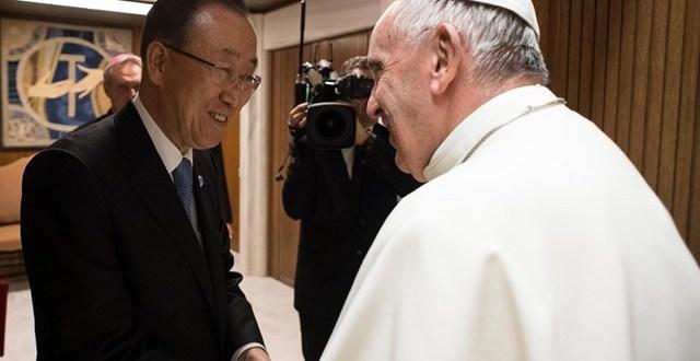 إذاعة الفاتيكان تجري مقابلة حصرية مع الأمين العام للأمم المتحدة بان كي مون