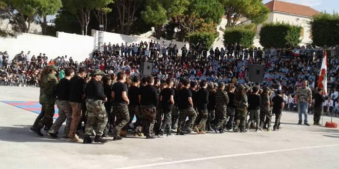 احتفالات بعيدي العلم والاستقلال في مناطق لبنانية مختلفة