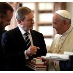 البابا فرنسيس يستقبل رئيس وزراء ايرلندا