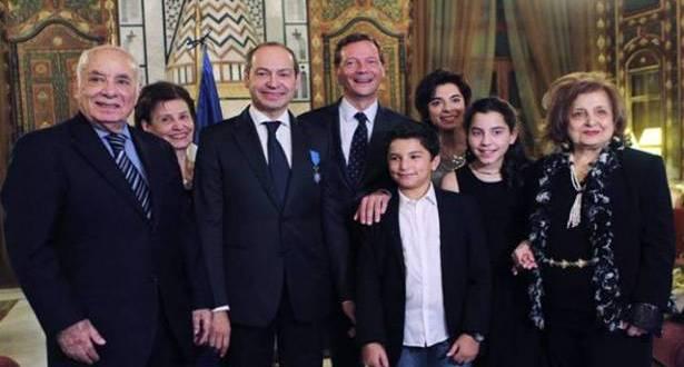 وسام الاستحقاق الوطني الفرنسي لفادي يرق بون: شريك أساسي في التعاون اللبناني – الفرنسي