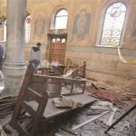 شظايا تفجير الكنيسة تصيب الإعلام المصري