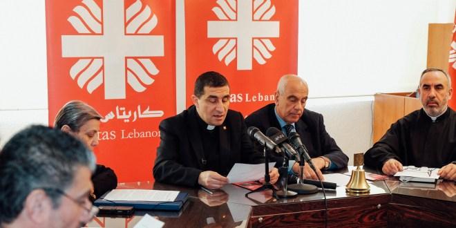 """كاريتاس لبنان تطلق حملة المشاركة السنوية تحت عنوان """"لأنّ في بواب ما عم يندقّ عليها"""""""