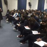 """""""لابورا"""" تنظم لقاءً توجيهياً في مدرسة العائلة المقدسة الفرنسية - ساحل علما"""