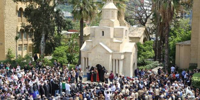 ارام الأول في ذكرى الإبادة الأرمنية: إبقوا ملتزمين في مواصلة النضال من أجل مطالبكم المشروعة
