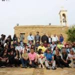 زملاء من اوسيب لبنان ومجلة اورا امام دير مار حوشب- مدرسة القدي شربل بين الاعلاميين المشاركين في اليوم المميز
