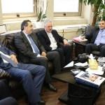 """""""لابورا"""" في زيارة إلى مدير عام الجمارك: تهنئة وبحث في سبل التعاون لتعزيز التوازن في الإدارات العامة"""