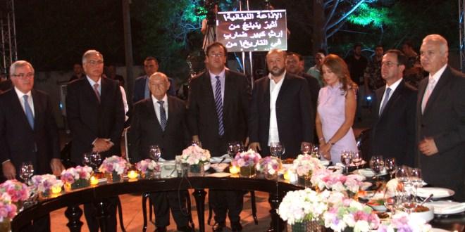 إذاعة لبنان احتفلت بمرور 80 عاما على تأسيسها برعاية رئيس الجمهوريةالرياشي: هي مدرسة في الإعلام والفن والثقافة وستجسد نموذجا للعيش المشترك